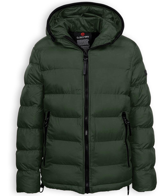 Chlapecká zimní bunda GLO STORY NEW khaki Velikost: 158-164