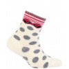 Dívčí vzorované ponožky GATTA PUNTÍKY MAŠLE