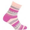 Dívčí vzorované ponožky WOLA