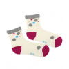 Dívčí vzorované ponožky WOLA PUNTÍK