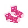 Dívčí ponožky se vzorem WOLA KYTIČKY