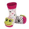 Ponožky s chrastítkem ŽABKA