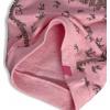 Dívčí mikina DIRKJE PALMY růžová