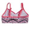 Dívčí plavky DIRKJE GEOMETRIC růžové