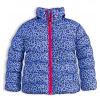 Dívčí zimní bunda LEMON BERET POTISK modrá