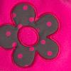 Fleecová čepice pro holčičky YETTY KYTIČKA neon růžová