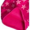 Dívčí zimní čepice YETTY HVĚZDY růžová