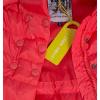 Dívčí zimní bunda LEMON BERET DUBARRY oranžová