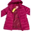 Dívčí zimní bunda LEMON BERET STAY WILD vínová