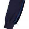 Dívčí mikina s flitry Mix´nMATCH CHIC tmavě modrá