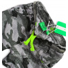 Chlapecké úpletové kraťasy KNOT SO BAD CAMOUFLAGE zelený potisk
