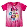 Dívčí souprava Disney MINNIE LOVE tmavě růžová