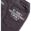 Chlapecké kalhoty KNOT SO BAD STAY COOL šedé