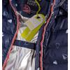 Dívčí zimní bunda LEMON BERET SRDÍČKA modrá
