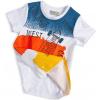 Chlapecké tričko GLO-STORY SKATE žlutý pruh