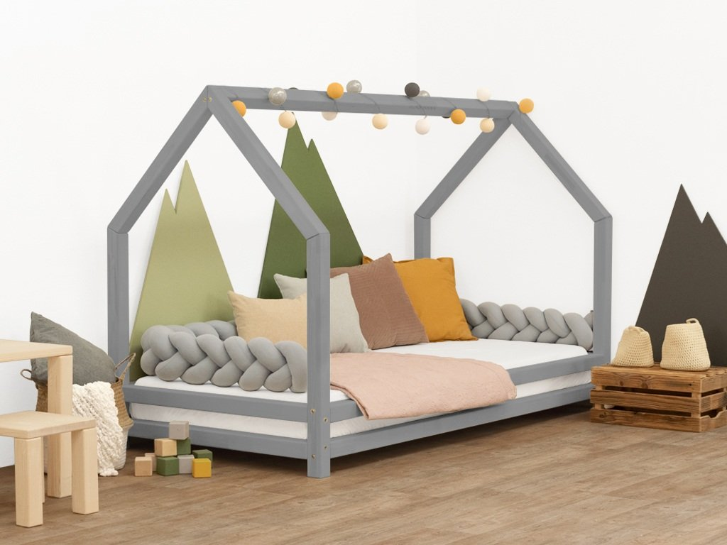 Solid House Bed For Children Funny