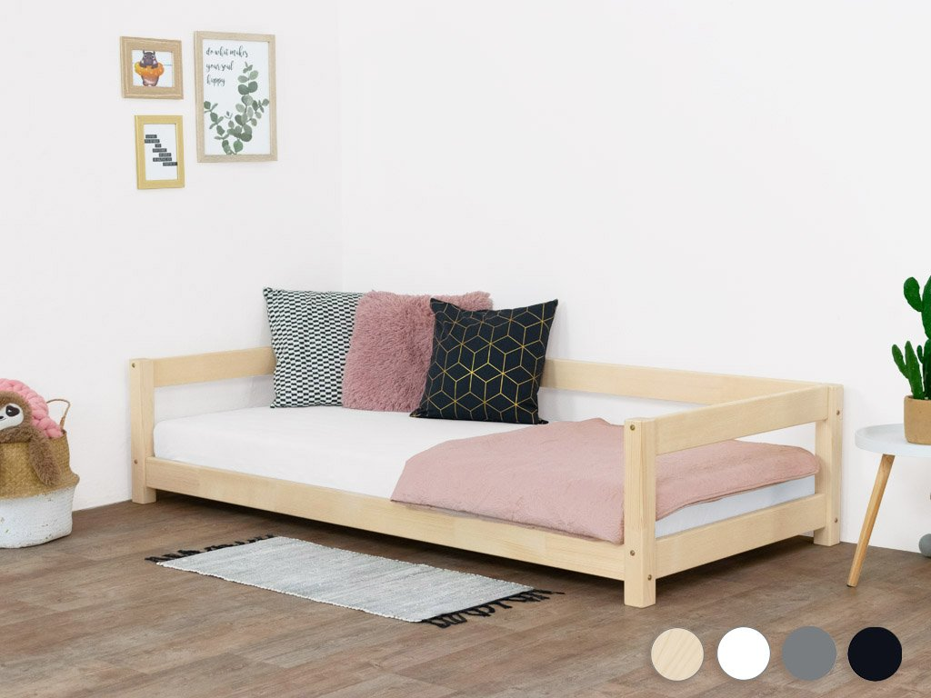 Single Bed STUDY from Solid Wood