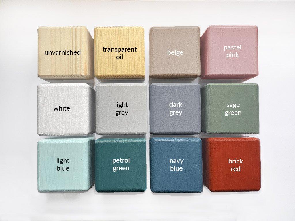 Children S Wooden Bed Dreamy With Headboard Benlemi