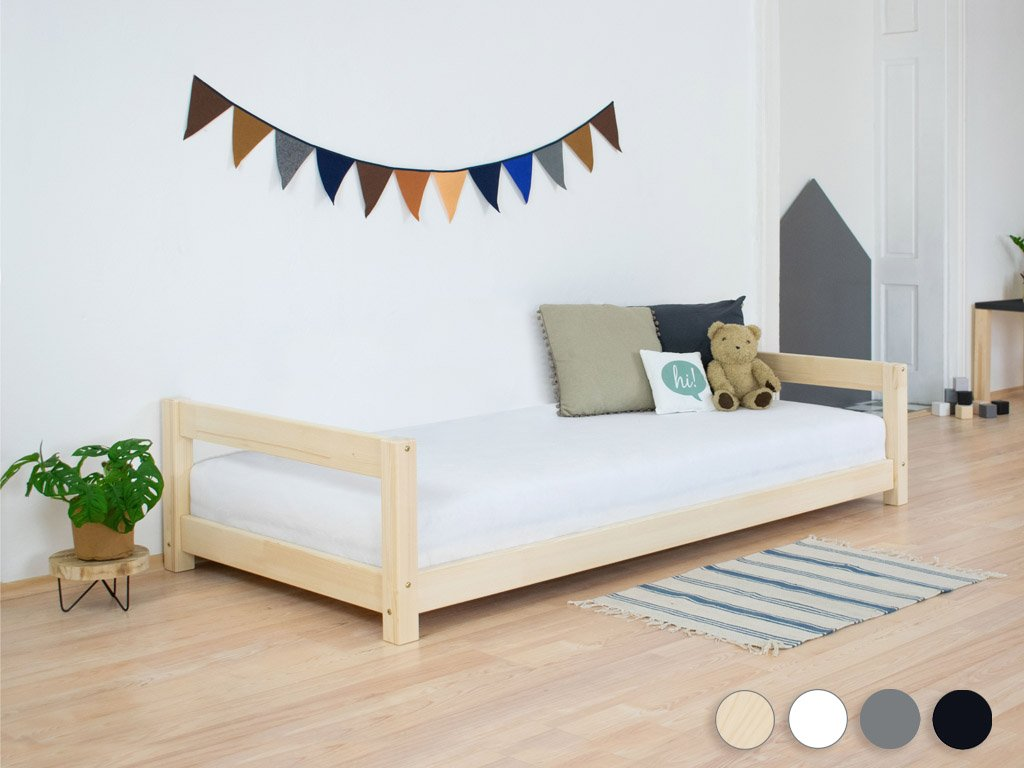 Children's Wooden Bed KIDDY with Two Headboards