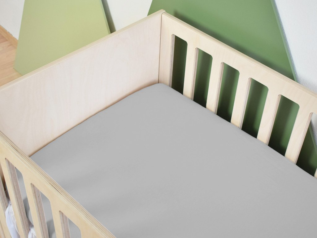 Baby Cotton Bed Sheet 60 x 120 cm for a Cot
