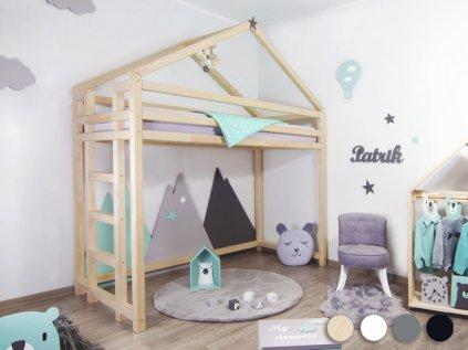 Children's Wooden Loft Bed TOPPY