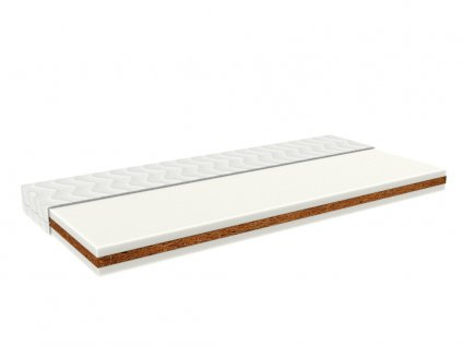 Baby cot mattress COCO 60 cm x 120 cm with coconut fibres