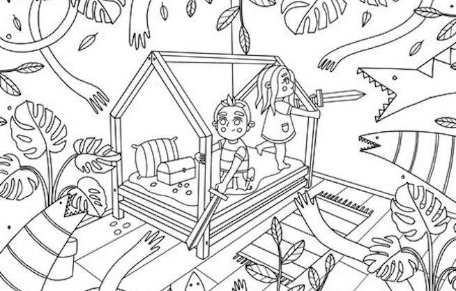 Benlemi omalovánky pro děti: Jak kreativně zabavit svého prcka?