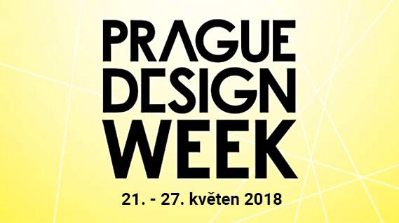 Designová přehlídka Prague Design Week letos v květnu