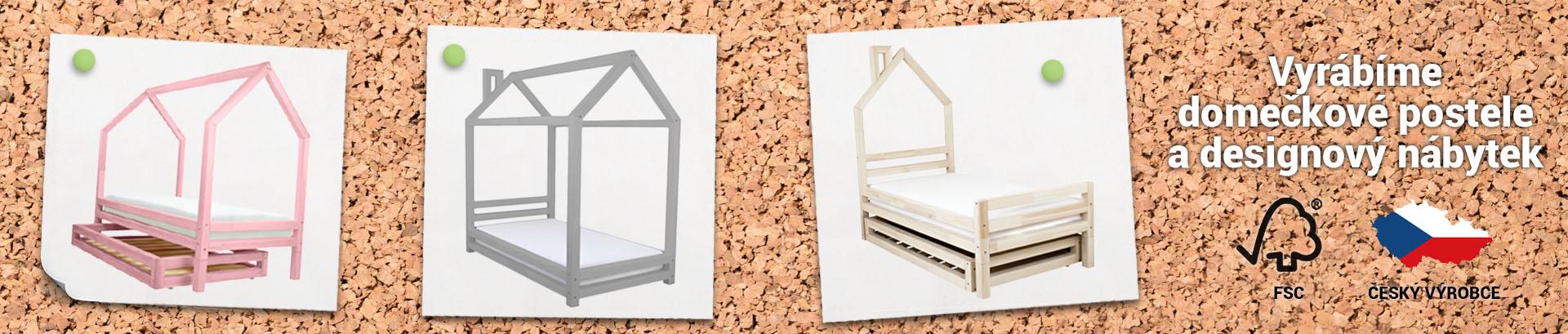 Vyrábíme domečkové postele a designový nábytek