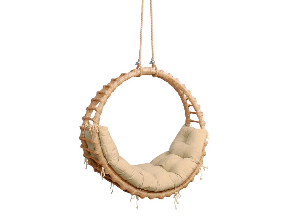 Relaxujte v závěsné houpačce