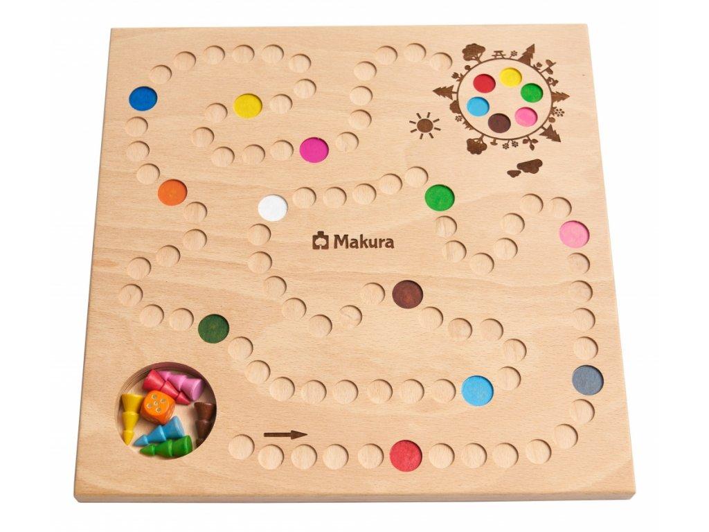 Dřevěná stolní společenská hra ZASAĎ STROM