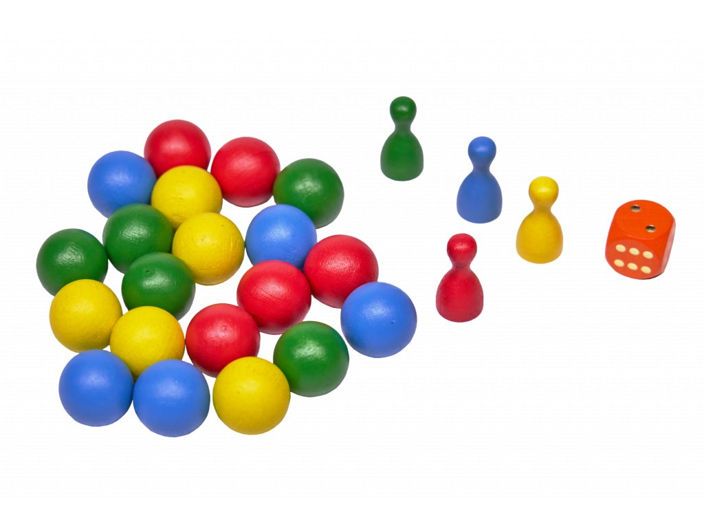 Náhradní komponenty pro hru KULIČKY