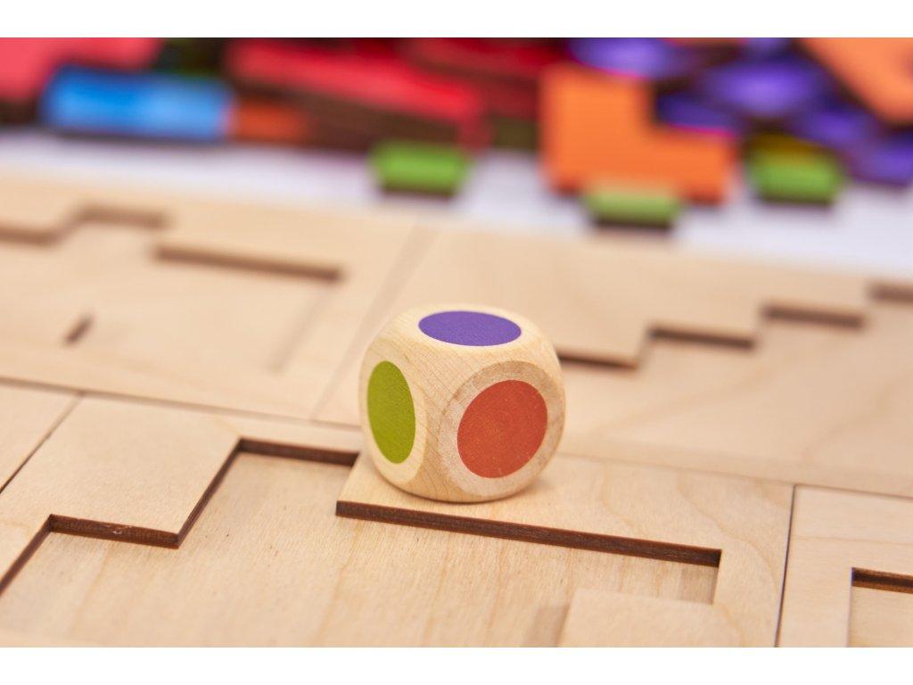 Náhradní kostka pro hru PIPOLO