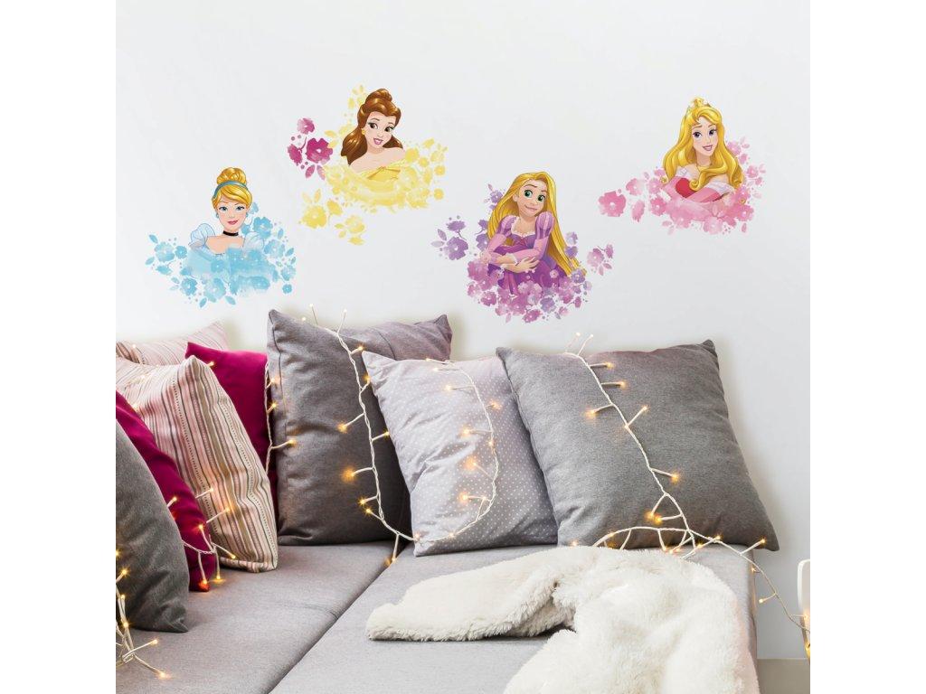 Samolepky do stěnu s Disney motivem PRINCEZNY