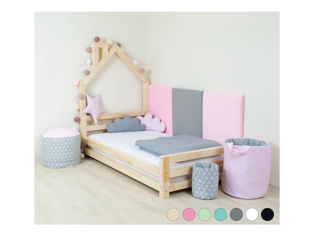 Dětská postel domeček Wally 90x160 cm