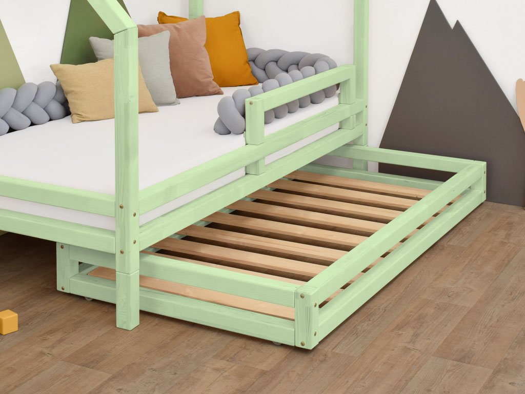 Šuplík 2in1 120x160 cm pod postel 120x180 cm s přídavnými nohami Foots