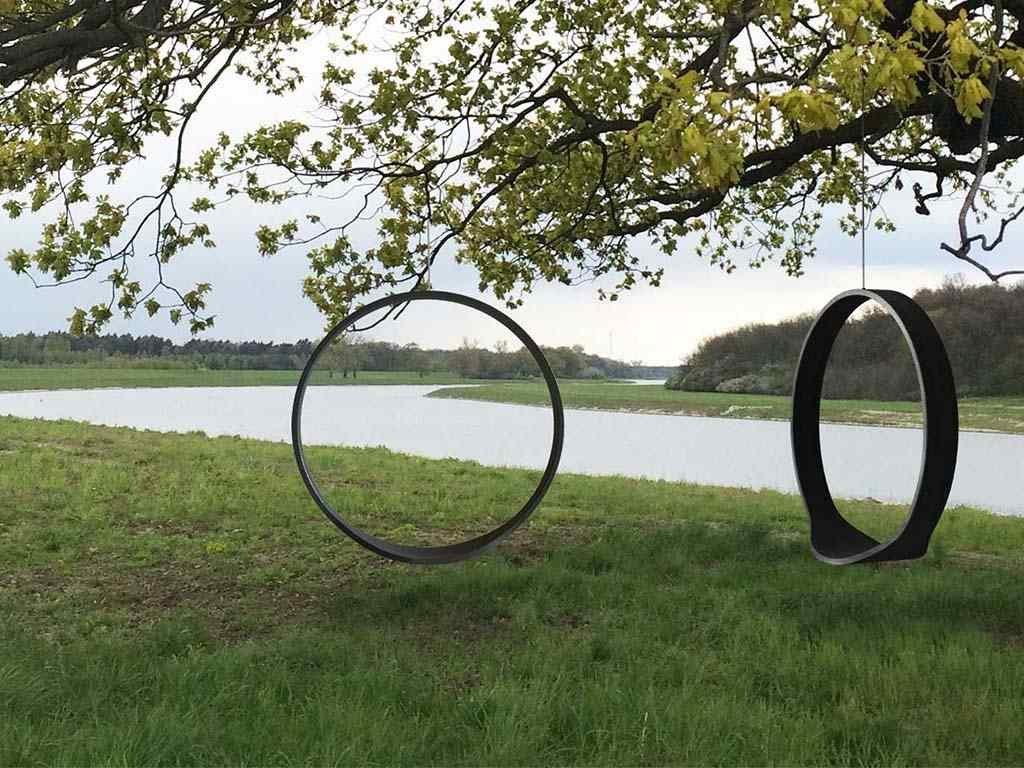 Závěsná houpačka Swing I přírodní