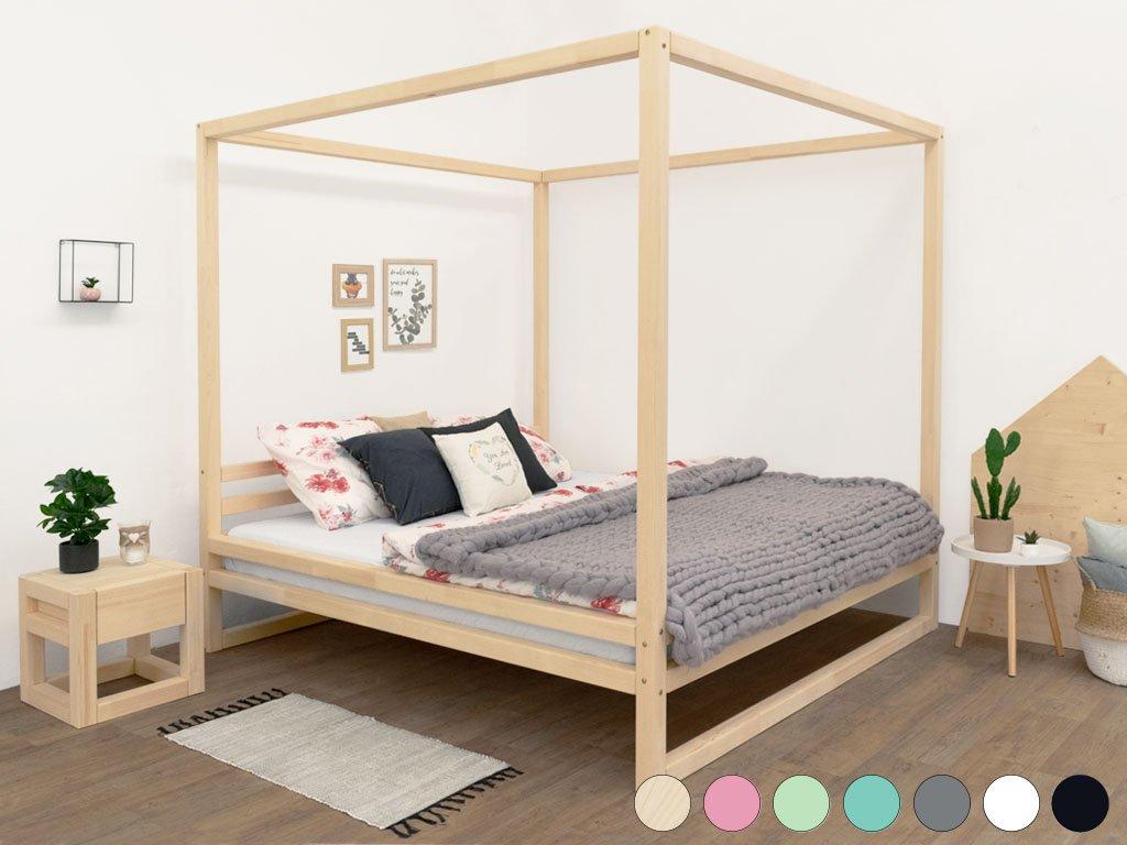 Dvoulůžková postel Baldee 200x200 cm