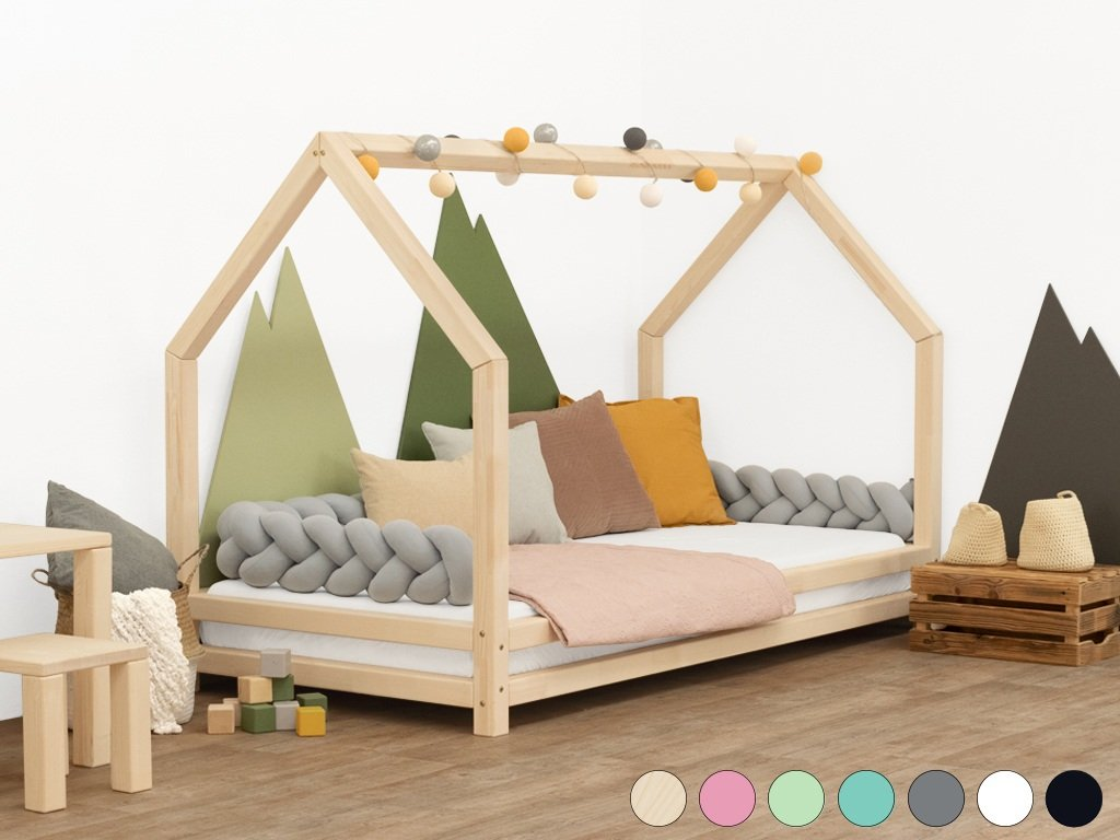 Dětská postel domeček Funny 80x200 cm