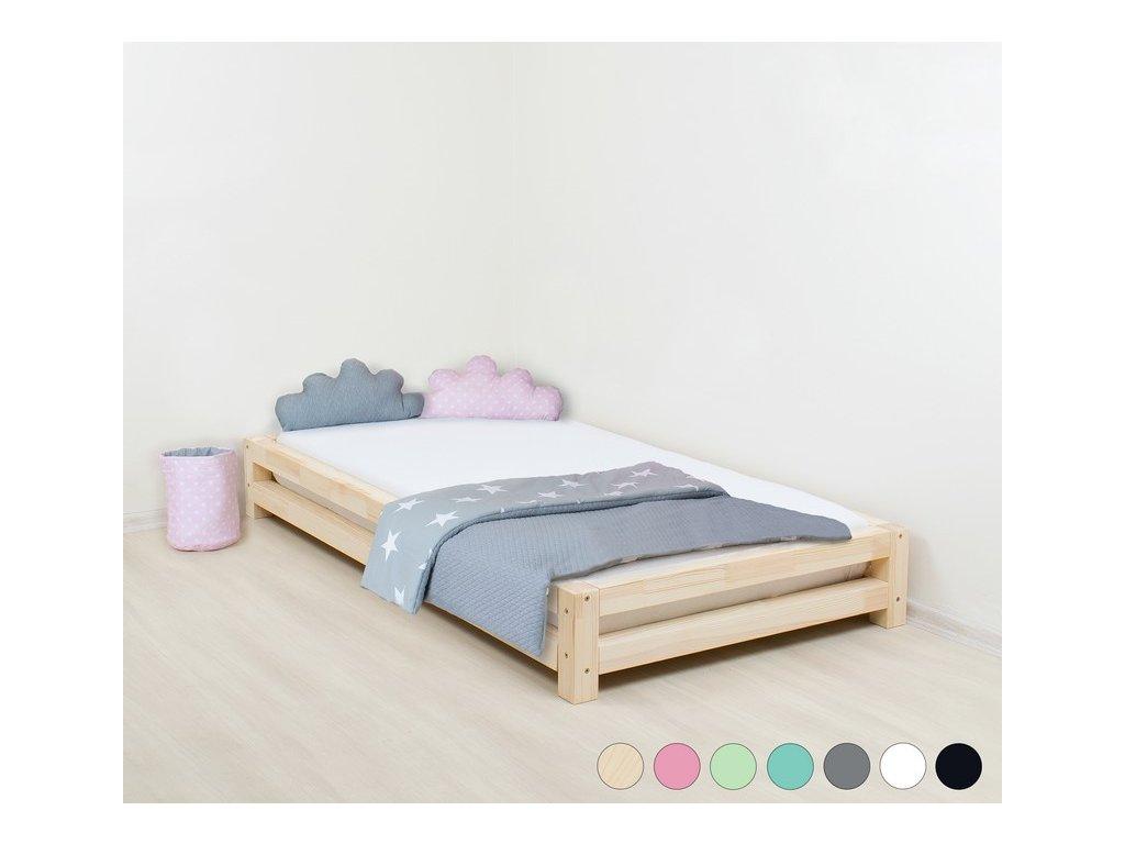 Jednolůžková postel Japa 80x200 cm
