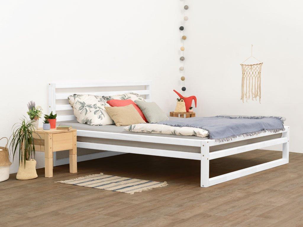Dvoulůžková postel DeLuxe 160x190 cm přírodní