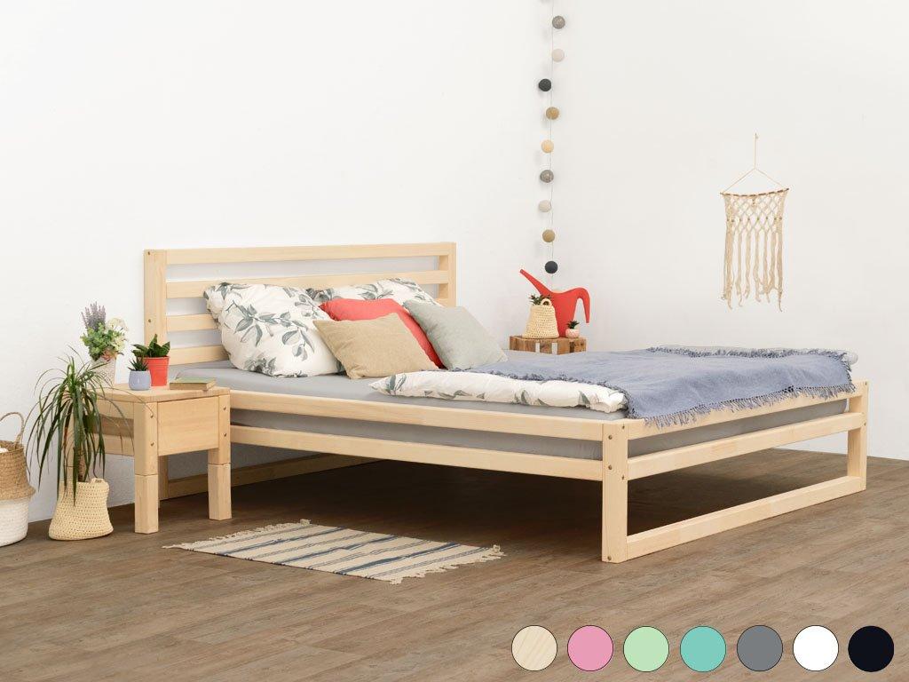 Dvoulůžková postel DeLuxe 200x190 cm