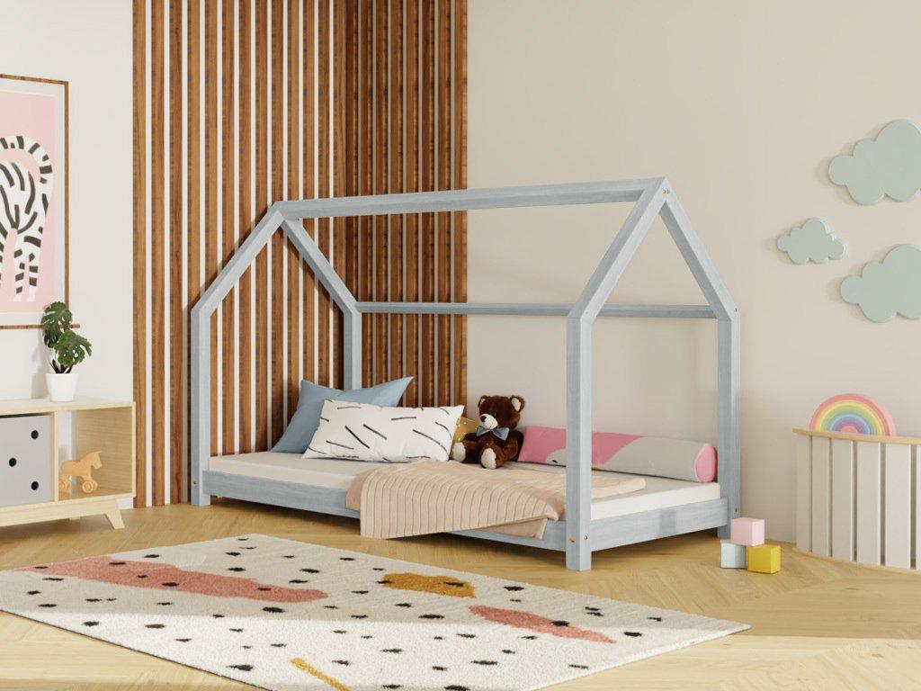 Dětská Postel Domeček Tery bez bočnice 120x160 cm