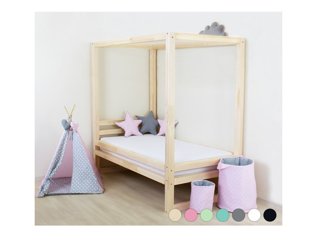 Dětská postel Baldee 90x200 cm