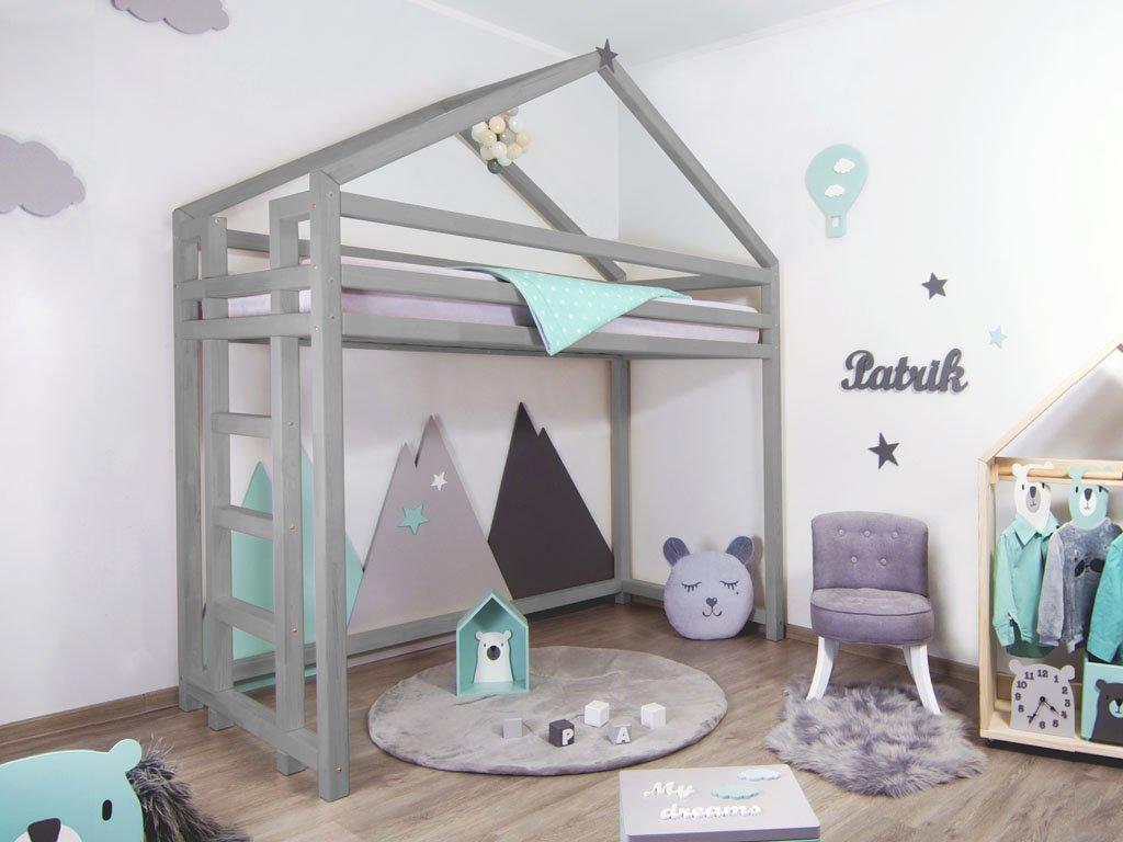 Vyvýšená postel Toppy 120x190 cm