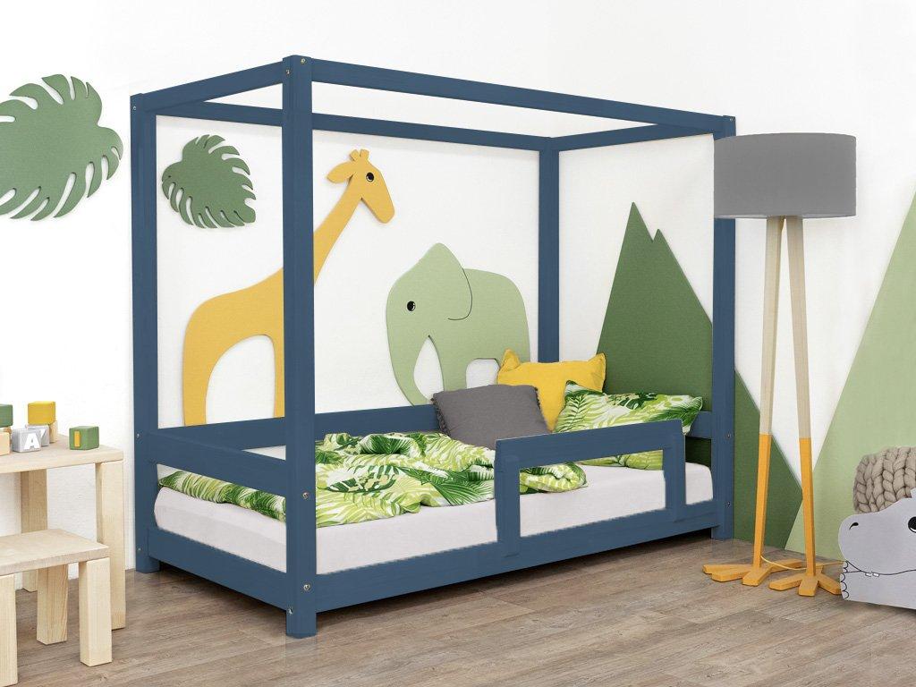 Dětská postel BUNKY s bočnicí
