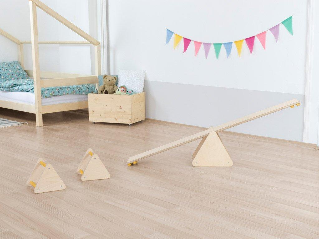 Montessori balanční set pro děti TRIΔNGLES