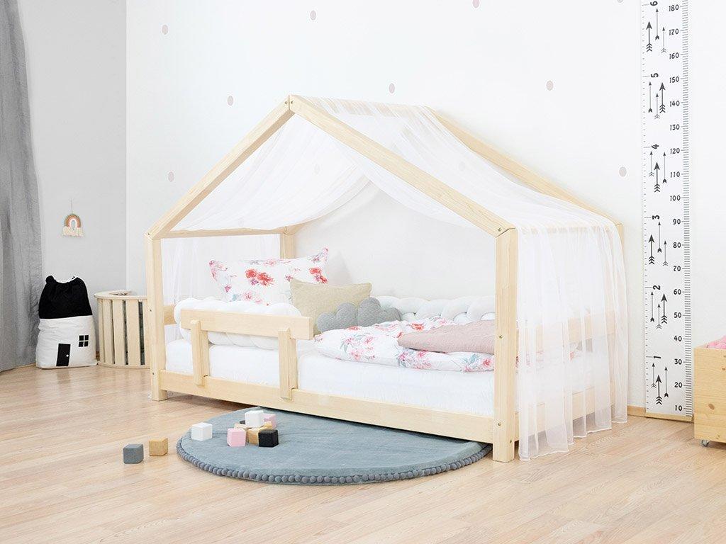 Lehká šifónová stříška na dětskou domečkovou postel Lucky