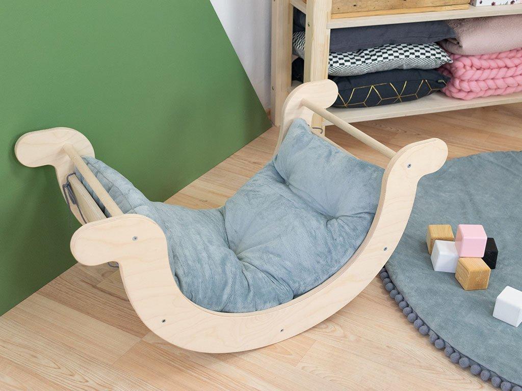 Pohodlný plyšový polštář do dětské houpačky YUPEE