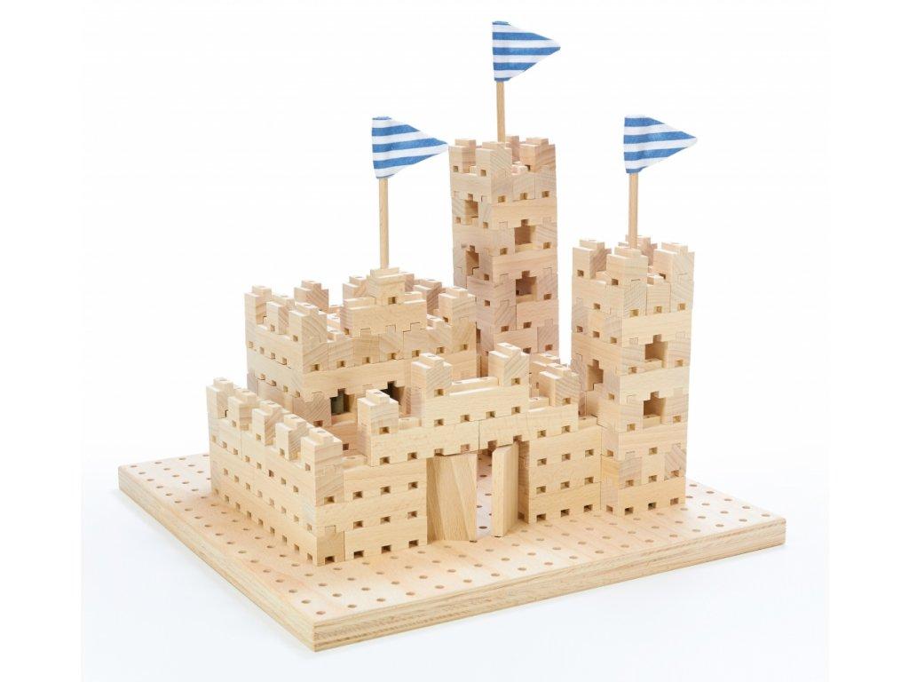 Stavebnice BUKO malý hrad ze 295 dílů